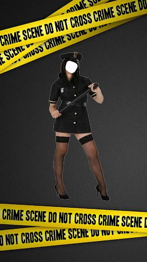 女警套裝照片編輯器