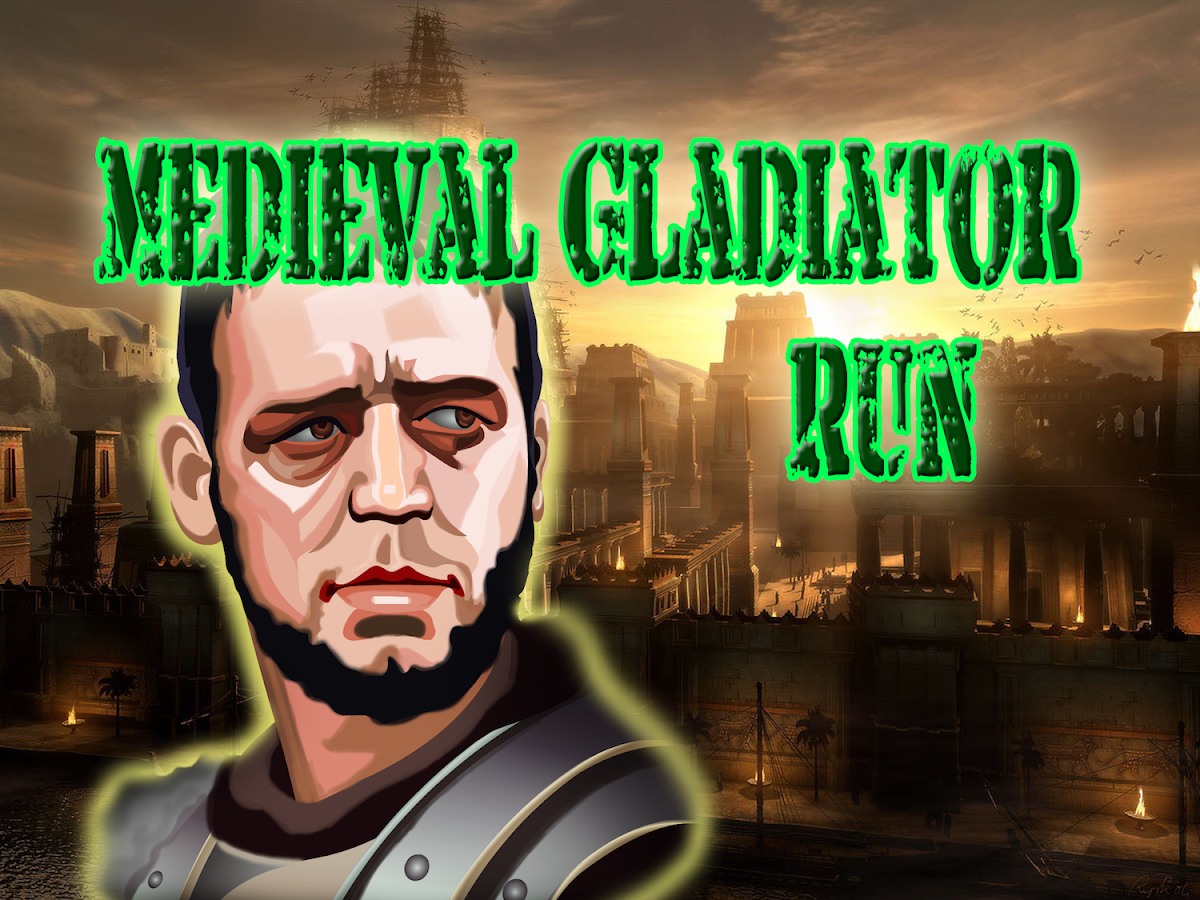 Medieval Gladiator Glory Run - screenshot