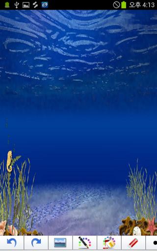 海底世界(貼紙書)