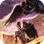 Two warriors with wings LWP