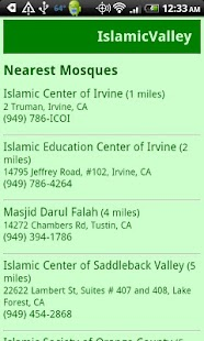 IslamicValley Mosque Finder- screenshot thumbnail