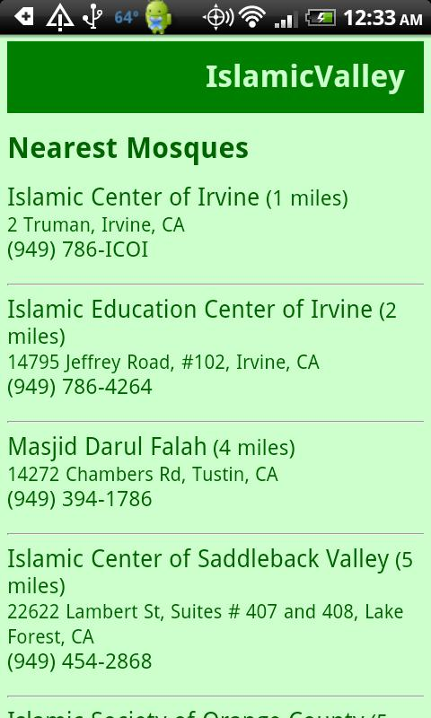 IslamicValley Mosque Finder- screenshot