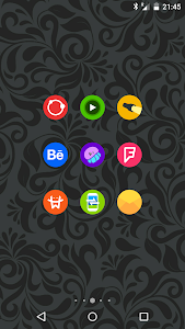 Goolors Circle - icon pack screenshot 21