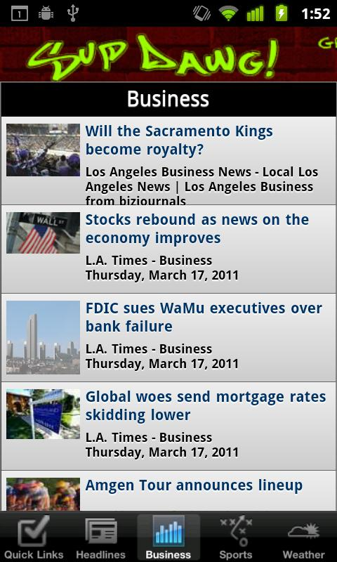 Los Angeles Local News - screenshot