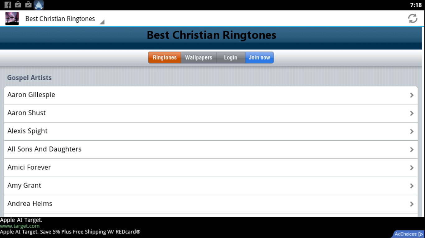 Hillsong ringtones for android