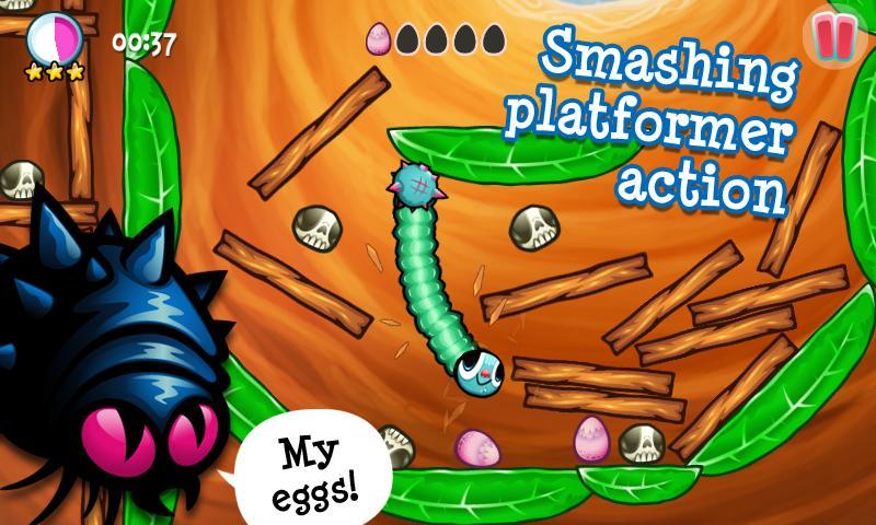 Swingworm- screenshot