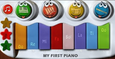 Screenshot of My Tiny Color Piano HD