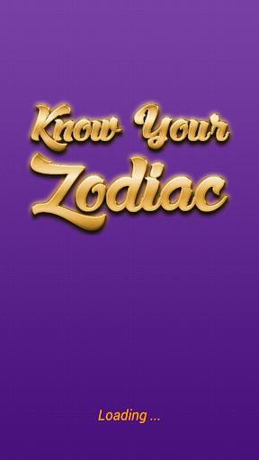 Know Your Zodiac