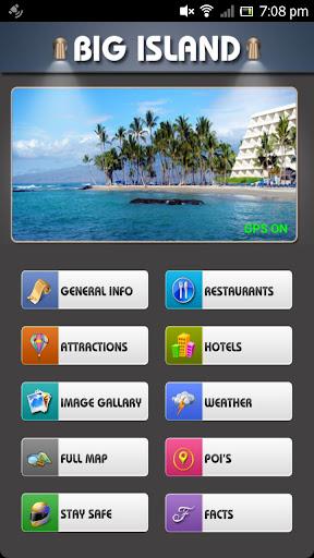 Big Island Offline Map Guide