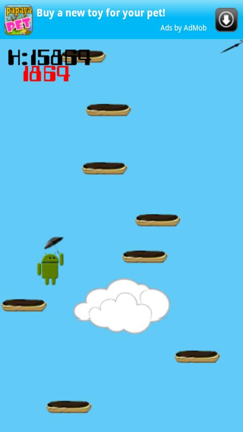 Droid Jump- screenshot