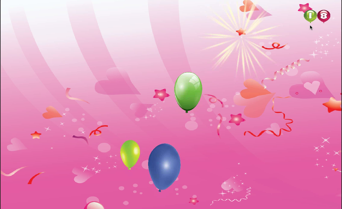 Balloon Popping For Babies - screenshot