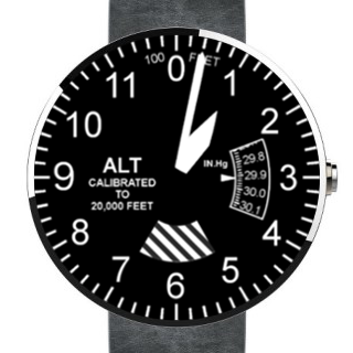 Altimeter Watch Face