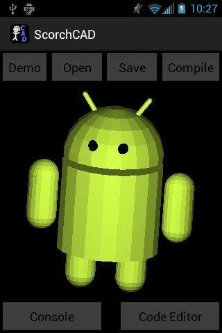 ScorchCAD - screenshot