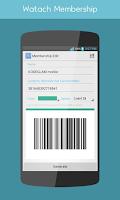 Screenshot of Watch Membership Android Wear