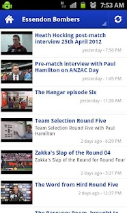 AFL Latest Videos - screenshot thumbnail