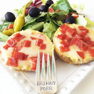Skinny Pizza Potato Skins Recipe