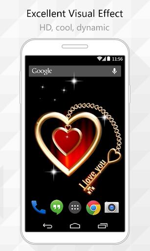 Lock My Heart Live Wallpaper