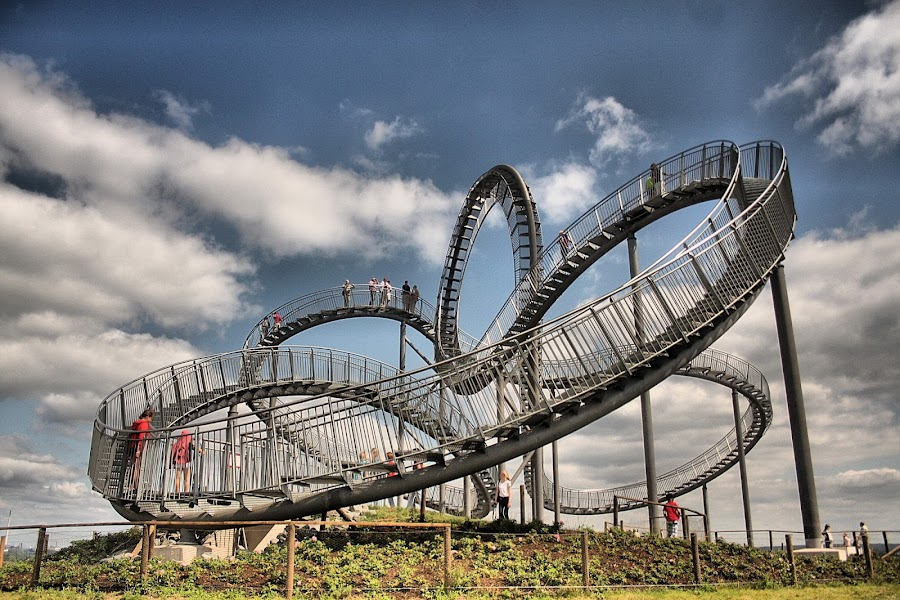 Tiger and Turtle by Axel K. Böttcher - Buildings & Architecture Bridges & Suspended Structures