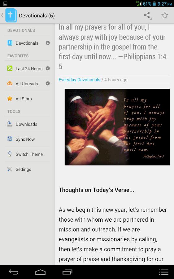 Everyday Devotionals- screenshot
