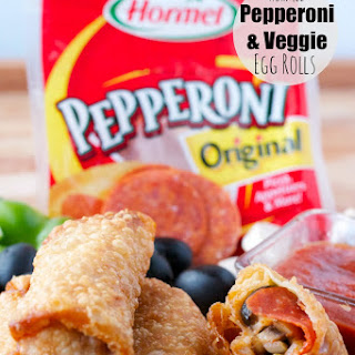 Hormel Pepperoni and Veggie Egg Rolls