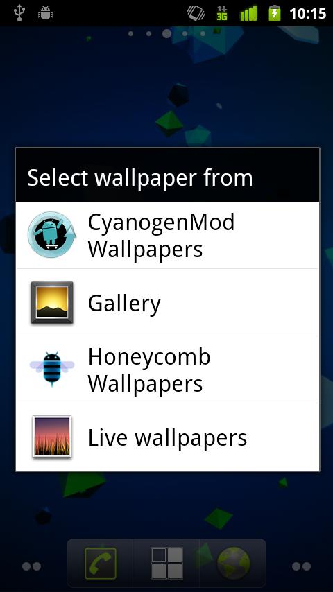 Honeycomb Wallpaper Pack - screenshot