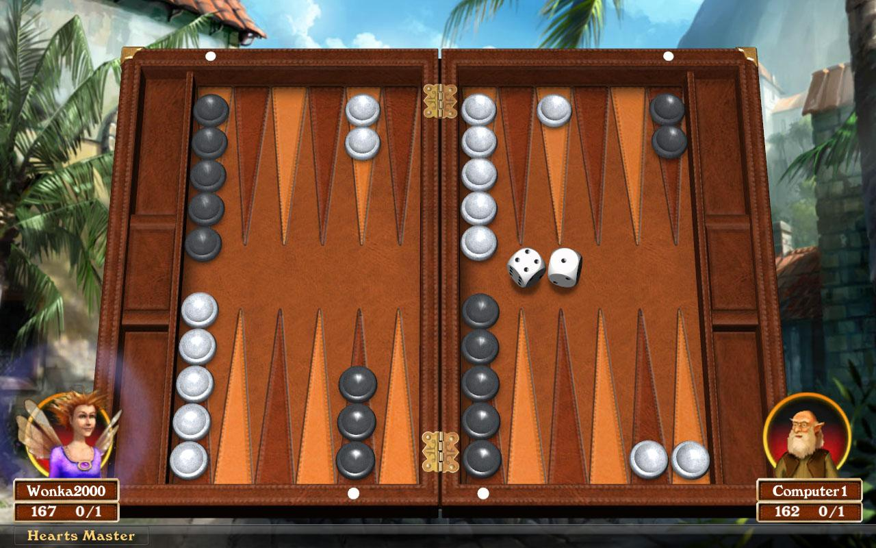 Play Six Five Backgammon