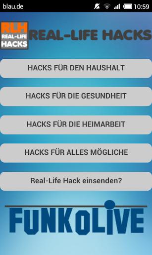 Real-Life Hacks