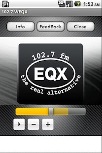 102.7 WEQX - screenshot thumbnail