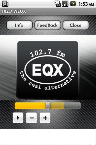 102.7 WEQX - screenshot