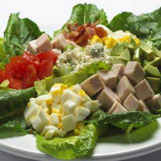 Composed Cobb Salad.