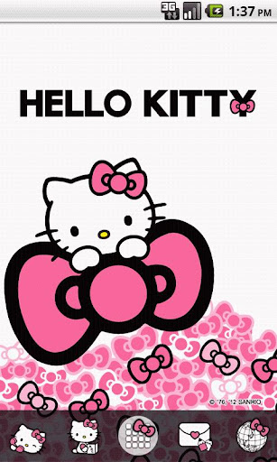 Hello Kitty Sweet Pink Bow