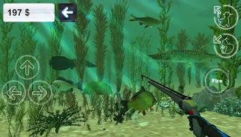Screenshot of Hunter underwater spearfishing
