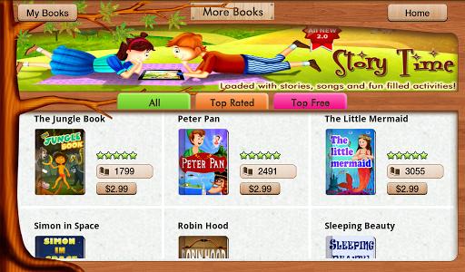 【免費書籍App】Story Time for Kids-APP點子
