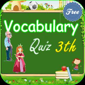 Vocabulary Quiz 3th Grade for PC and MAC
