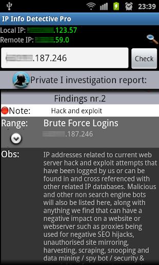 IP info Detective Pro- screenshot thumbnail