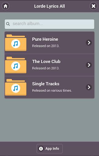 Lyrics of Lorde - Complete
