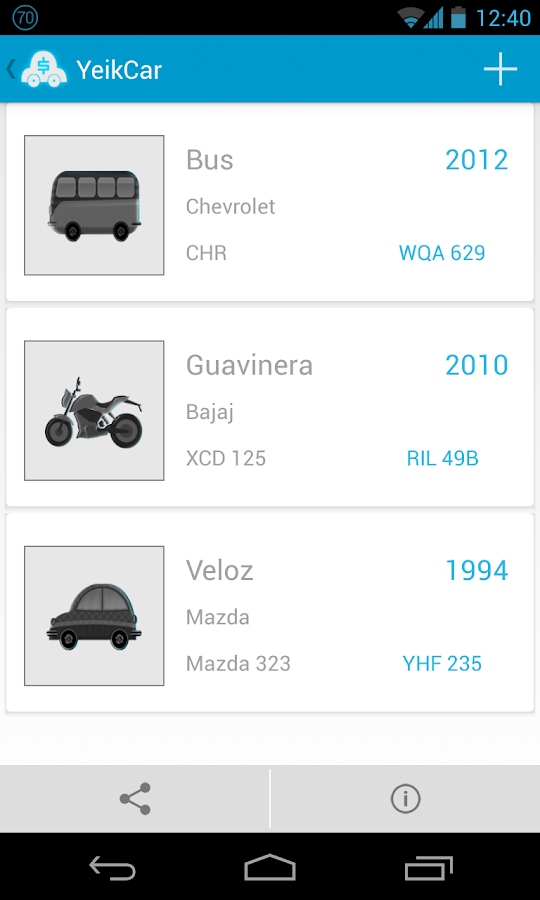 YeikCar Vehicles - screenshot