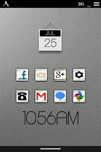 Streaks ADW/LPP Icon Pack- screenshot thumbnail