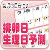 排卵日・生理日・妊娠予測チェッカー