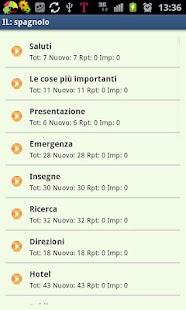 Imparare lo spagnolo- screenshot thumbnail