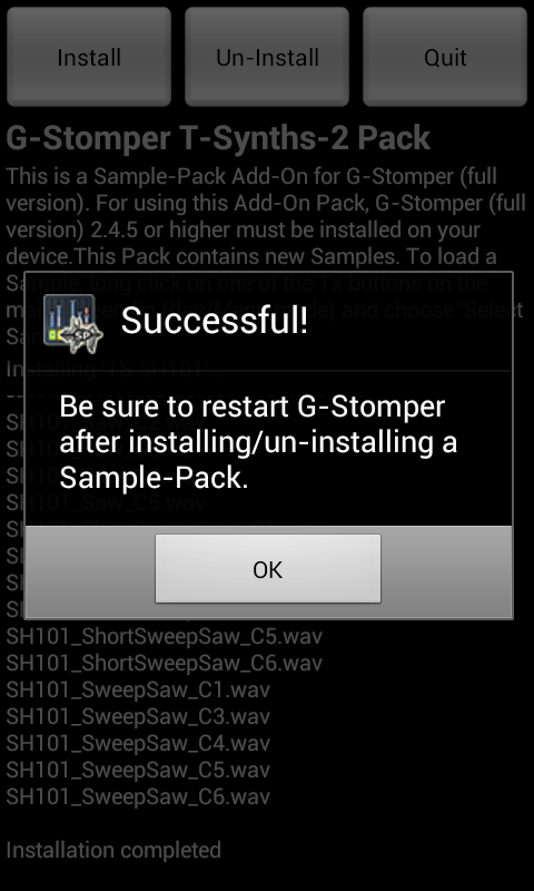 G-Stomper Tonal-Synths-2 Pack - screenshot