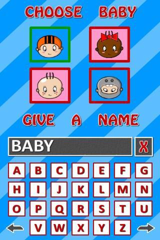 Alpha Baby Races- screenshot