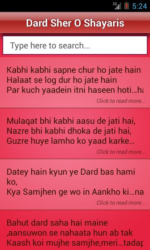 Hindi Sher O Shayari✦ Love/Sad - Google Play Store revenue ...