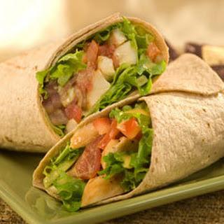 Blt Chicken Avocado Wraps.