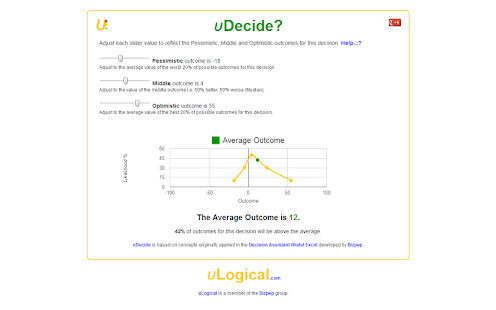 uDecide- screenshot thumbnail