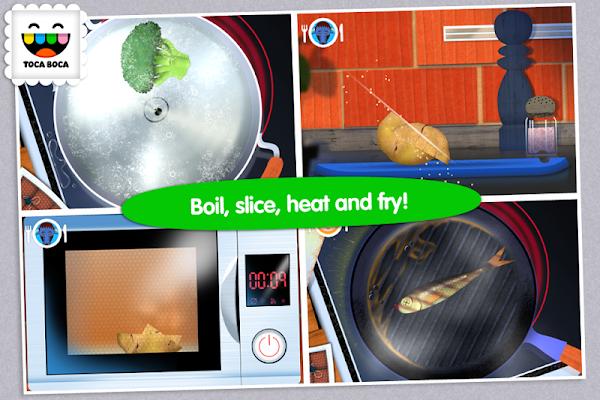 Toca Kitchen - screenshot