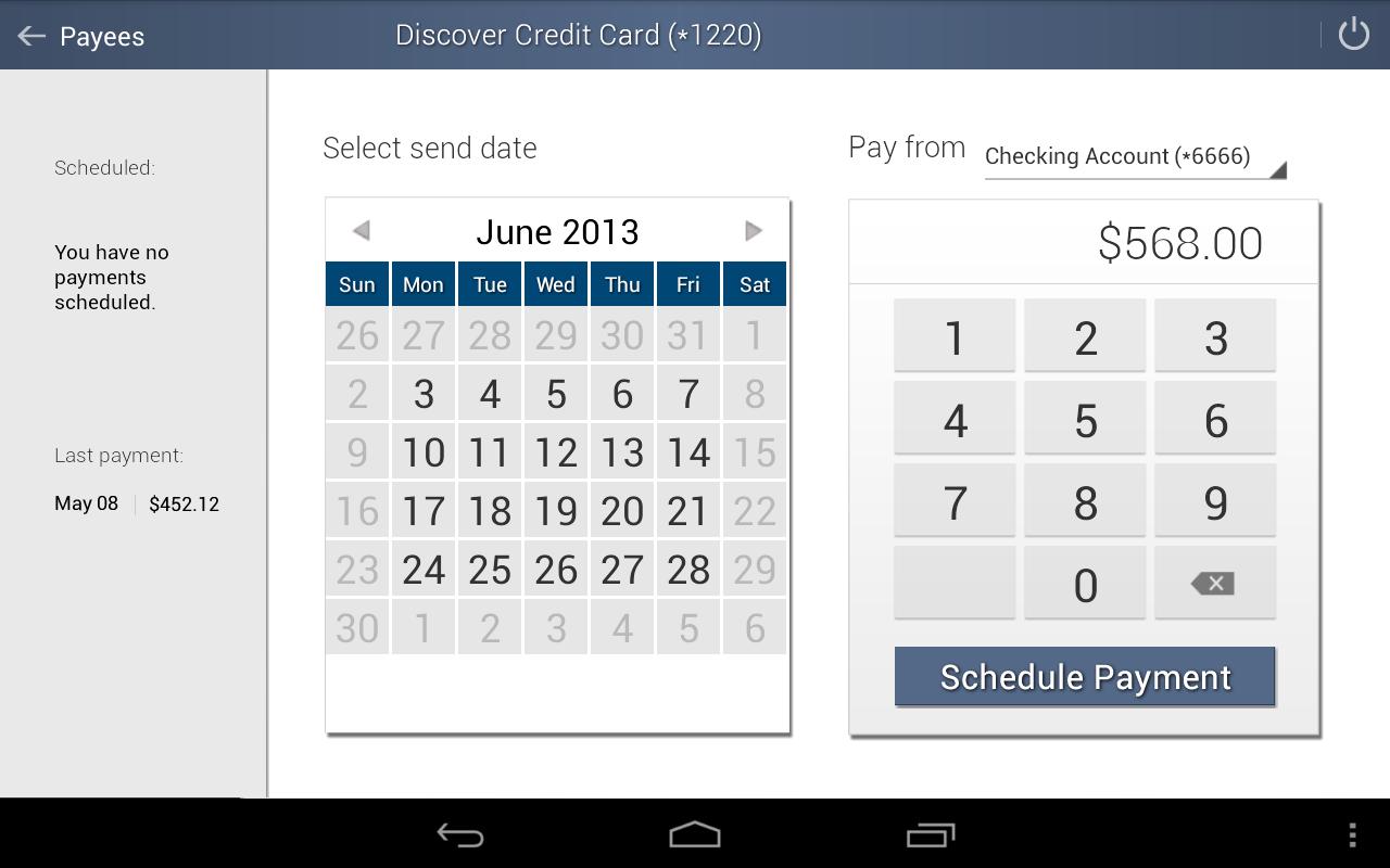 The Bank Mobile Banking - screenshot