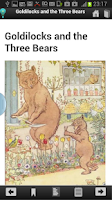 Screenshot of Children's Bedtime Stories