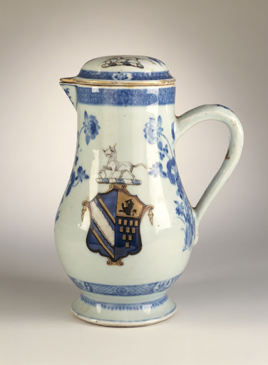 Armovial Jug with Lid