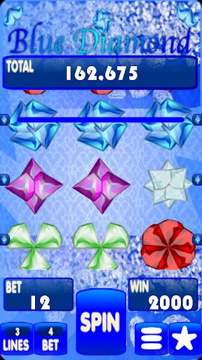 ブルーダイヤモンドスロットマシン